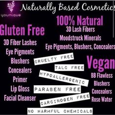 Are your ready to truly start taking care of you with high quality ingredients WHILE looking flippin fantastic at the same time? You deserve to shop Younique! 100% satisfaction guaranteed or your money back on ALL products!!! Www.youniqueproducts.com/samanthagabrelcik