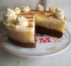Jablkova torta s uzasnou mascarpone plnkou