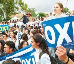 Οι Κύπριοι λένε ΟΧΙ στα σχέδια του κουρέματος που επιβάλουν οι Γερμανοί...