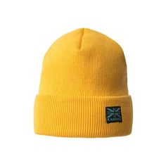 240e443b Kangol Cuff Beanie - Amarillo (39 CAD) ❤ liked on Polyvore featuring  accessories,