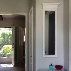 Foyer mirror makeover