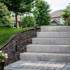 Add Grand Style To Entrances And Stairways With The Landings™ Step Unit.