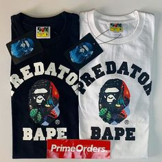 694fc09f70a Bape x The Predator College Tees available in full size!!! Much more  dropping this weekend  primeorders  hypebeast  hype  forsale  deadstock   urban ...