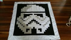Storm Trooper quilt, proud of it Quilt Patterns, Sewing Patterns, Storm Troopers, Quilting, Star Wars, Blanket, Stars, Rugs, Fabric
