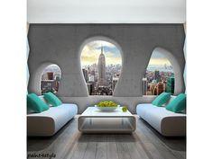 ΤΑΠΕΤΣΑΡΙΕΣ ΤΟΙΧΟΥ | paint4style-shop.gr Ville New York, Outdoor Furniture, Outdoor Decor, Architecture Design, Interior Design, Ebay, Home Decor, Poster, Pictures