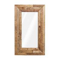 Verge Reclaimed Wood Mirror