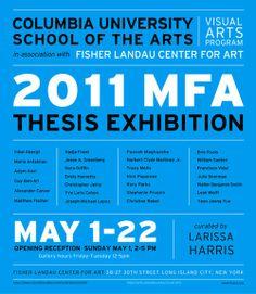 mfa thesis statement