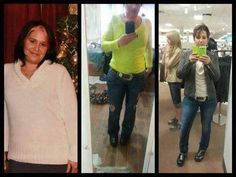 Shelley looks amazing...You did it!!  <3 It's never too late to start your journey. Change your life around the healthy way for yourself and your family. Order from me JoJo DValle @ www.LiveWellStayFit.SkinnyBodyCare.com Guaranteed you will LOVE it or your money back! Mix & Match any of our awesome products!!
