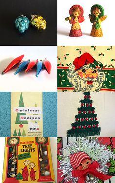 Retro Christmas  by Pam on Etsy--Pinned with TreasuryPin.com