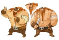 Viking Character Sheet 2 by the-Tooninator.deviantart.com on @deviantART
