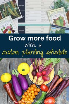 Use this free planting schedule template to figure out the best time to plant vegetables in your garden. #gardening #vegetablegarden #tools #gardenplanning Starting A Garden, Seed Starting, Garden Inspiration, Garden Ideas, Vegetable Garden Tips, Organic Gardening Tips, Grow Together, Companion Planting, Spring Garden