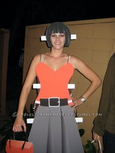 Awesome Inter-Changeable Paper Doll Costume... This website is the Pinterest of costumes