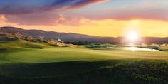 Golfing in Tuscany a