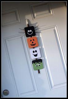 Obsessively Crafting: Halloween Door Hanger