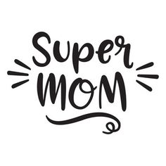 Super Mom Vinyl Car Decal Bumper Window Sticker Any Color Multiple Sizes Jenuine Crafts - Geburtstag Silhouette Design, Silhouette Cameo, Silhouette Portrait, Mothers Day Quotes, Mothers Day Cards, Happy Mothers Day, Monday Morning Quotes, Mom Day, Quote Of The Day