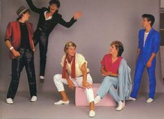 Duran Duran_ men dressed like this and Still looked like men!
