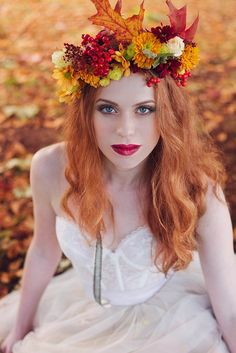 Autumn Woodland Wedding Inspiration | Love My Dress® UK Wedding Blog
