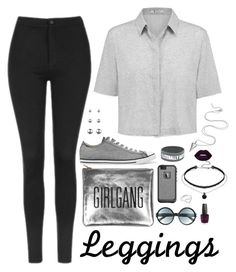 """""""found something real that's out of touch"""" by sophia-etr ❤ liked on Polyvore featuring Topshop, T By Alexander Wang, Converse, Tom Ford, LifeProof, Accessorize, Jordan Askill, Lime Crime, OPI and Leggings"""