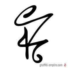 K Graffiti Tag Letter | Graffiti Lettering by Graffiti Empire #graffitiletters #graffiti