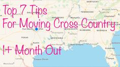 7 moving tips for a cross-country move: 1+ months out | genpink