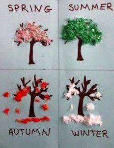 seasons preschool activities and crafts (2) | funnycrafts