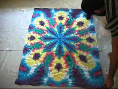Arte Tie Dye 2011 (Verão 2012) Sorocaba-SP mandala 3 - YouTube