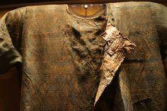 The Moshchevaya Balka Burial 8-9th Century. Circassian Mens Medieval Caftan Tunic Rus Slavic Varangian