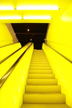 stairs to neon heaven