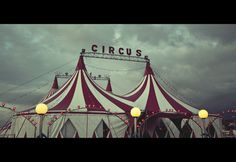 The colours I could use in my design if I choose to do the circus theme will be based around using Red, white and black.
