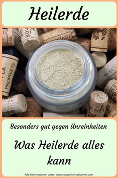 Heilerde Healing earth is great for blemished skin. But that's not all, because hardly any other ingredient of natural cosmetics is so versatile. For what it can be used, you will learn here Organic Skin Care, Natural Skin Care, Natural Beauty, Beauty Care, Beauty Skin, Dermaroller, Skin Care Routine For Teens, Yoga For Flexibility, Pores