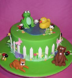 One of the cutest cakes I've ever seen!!!!