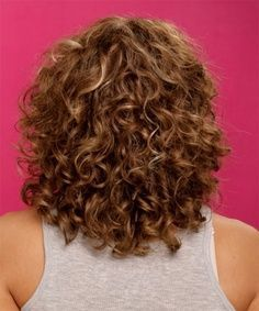 spiral perm on short hair - Google Search