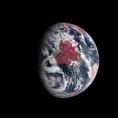 Terra, il vero pianeta rosso