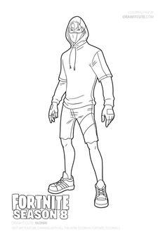 How to draw Marshmello easy | Fortnite Season 7 Drawing Tutorial