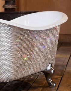 Children's Petit Bateau Crystal Roll Top Bath