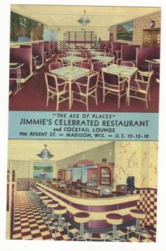 JIMMIE'S CELEBRATED RESTAURANT,DINER-MADISON,WI