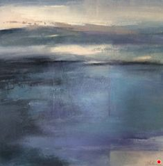 """Contemporary Landscape Artists International: Contemporary Abstract Landscape Painting """"Meditation"""" by Intuitive Artist Joan Fullerton Abstract Landscape Painting, Landscape Art, Landscape Paintings, Abstract Art, Art Paintings, Landscape Grasses, Creative Landscape, Landscape Lighting, Landscape Design"""
