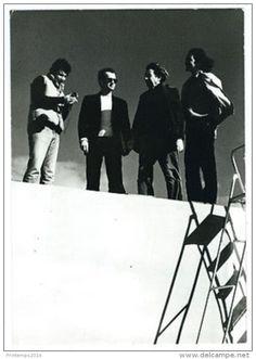 """Photo Invitation / Wim Wenders Film """"L'Etat Des Choses """" 1982 / Cinéma - Célébrités"""
