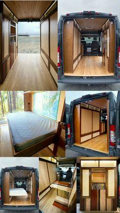 Build A Camper Van, Bus Camper, Camper Life, Van Conversion Interior, Camper Van Conversion Diy, Van Living, Tiny House Living, Zelt Camping, Kombi Home