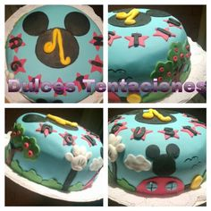 Torta diseno Mickey Mouse