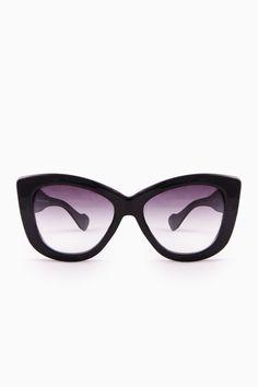 ShopSosie Style : Golightly Sunglasses in Black
