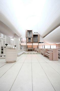 Bagsvaerd Church by Jorn Utzon.