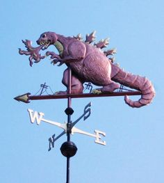 Godzilla Weather Vane