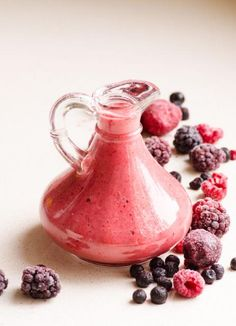 Berry Salad Dressing #Food #Drink #Musely #Tip