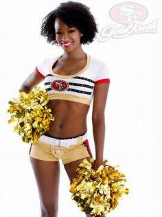 San Francisco 49er's Cheerleader Gallery