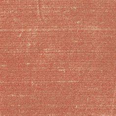 ANICHINI Fabrics   Sitara Deep Salmon Residential Fabric - a red dupioni silk fabric