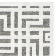 Safavieh Paradise Modern Ivory/ Dark Grey Viscose Rug (2'3 x 4')