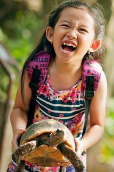 Evelyn at Bali Bird n Reptile Park