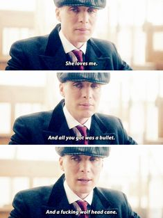 Peaky Blinders Thomas Shelby and Grace Burgess