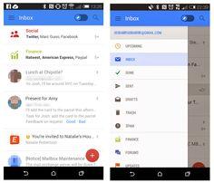 gmail mobile ui - Google Search